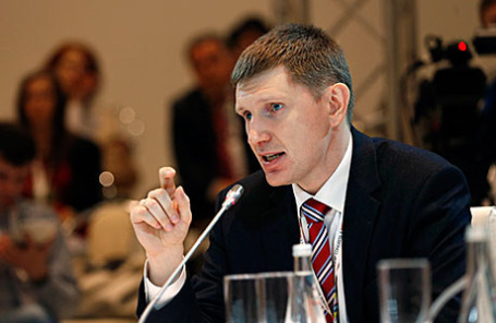 Руководитель департамента экономической политики и развития города Максим Решетников.