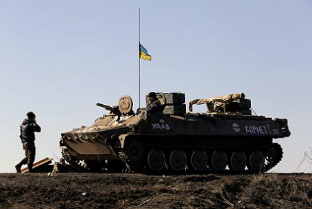Украинские военные.
