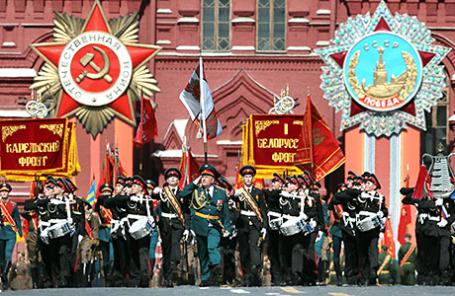 Парад Победы на Красной площади.