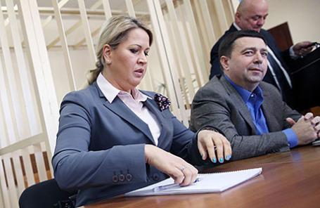 Бывшая глава Департамента имущественных отношений Минобороны РФ Евгения Васильева.