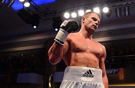 Боксер Денис Бойцов.