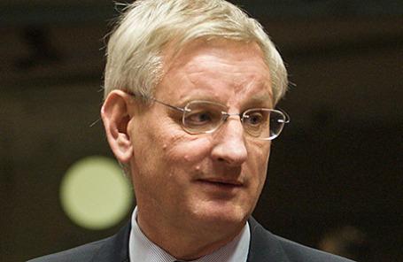 Бывший премьер-министр Швеции Карл Бильдт.