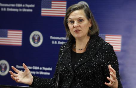 Заместитель госсекретаря США по вопросам Европы и Евразии Виктория Нуланд.