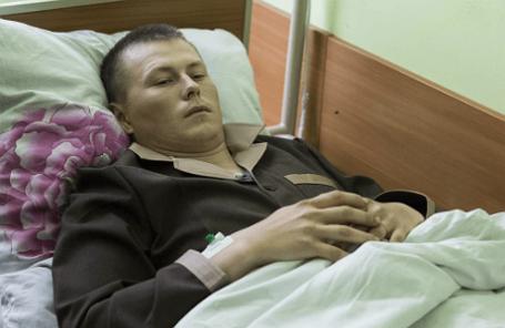 Один из задержанных в Луганской области граждан РФ Александр Александров
