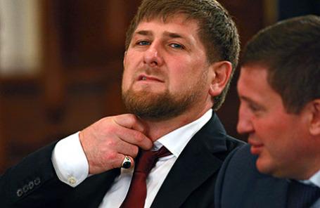 Глава Чеченской Республики Рамзан Кадыров.