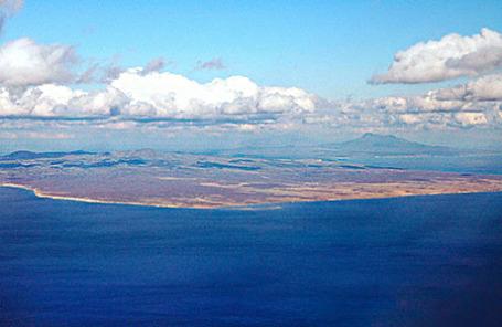 Курильские острова.