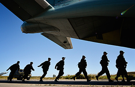 Российские военнослужащие.