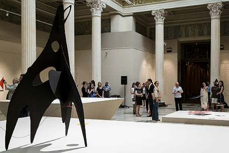 Выставка скульптур Александра Колдера.