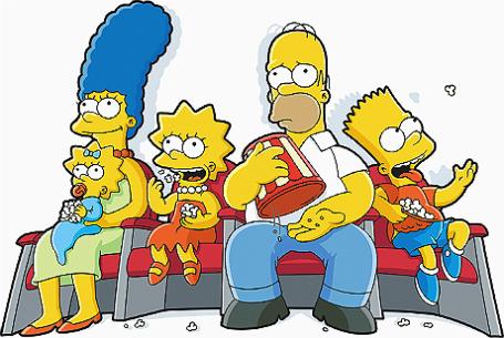 Кадр из мультипликационного фильма «Симпсоны в кино».