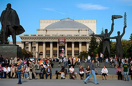 Новосибирский государственный академический театр оперы и балета.