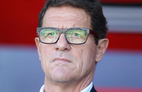 Главный тренер сборной России по футболу Фабио Капелло.