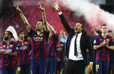 Игроки футбольного клуба «Барселона».