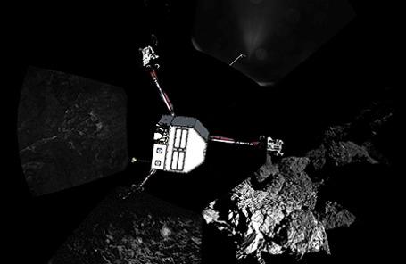 Спускаемый аппарат Philae.