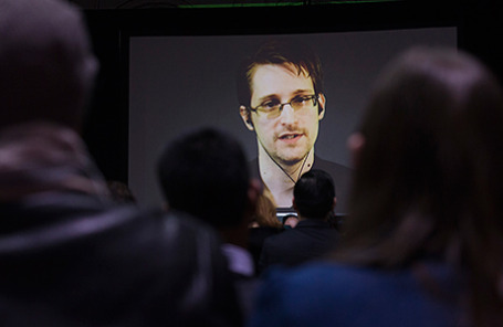 Бывший сотрудник Агентства национальной безопасности Эдвард Сноуден.