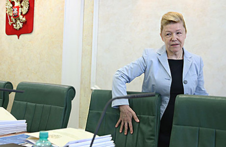 Председатель комитета Госдумы РФ по вопросам семьи, женщин и детей Елена Мизулина.
