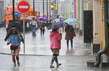 Дожди в Москве.