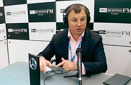 Генеральный директор компании «НДВ-Недвижимость» Александр Хрусталев.