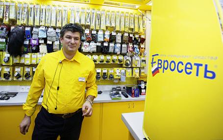Генеральный директор компании «Евросеть» Александр Малис.