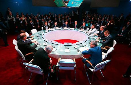 Первый день работы XIX Петербургского международного экономического форума.
