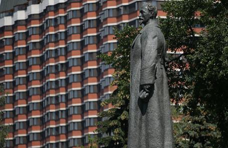 Памятник Ф.Дзержинскому в парке искусств «Музеон».