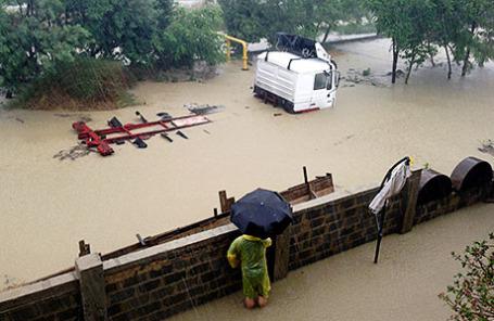 Наводнение в Сочи.