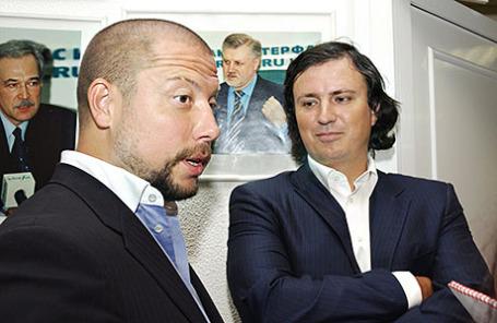 Бывшие совладельцы банка «Траст» Илья Юров и Николай Фетисов.