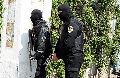 Тунисская полиция.