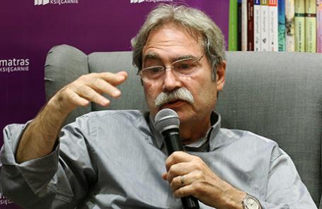 Писатель Жауме Кабре.