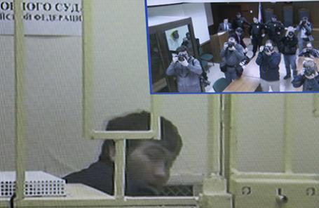 Обвиняемый в убийстве Немцова Анзор Губашев.