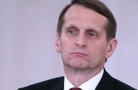 Спикер Госдумы РФ Сергей Нарышкин.
