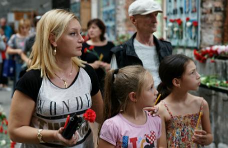 День памяти жертв террористического акта в Беслане.