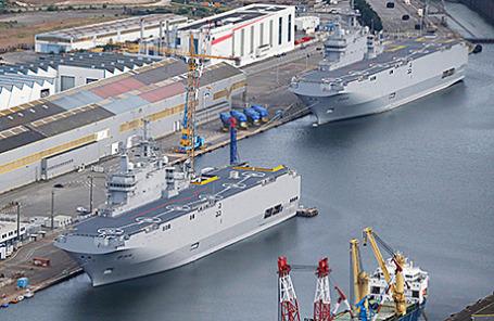 Корабли типа «Мистраль».