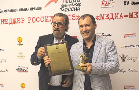 Илья Копелевич (справа).