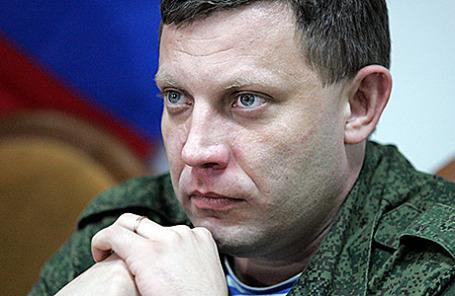 Глава ДНР Александр Захарченко.
