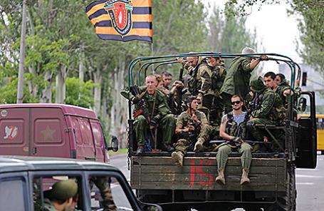 Военнослужащие армии ДНР.