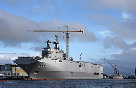 Корабль типа «Мистраль».