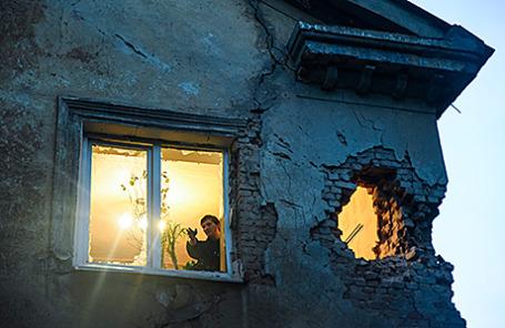 Жилой дом в Донецке.