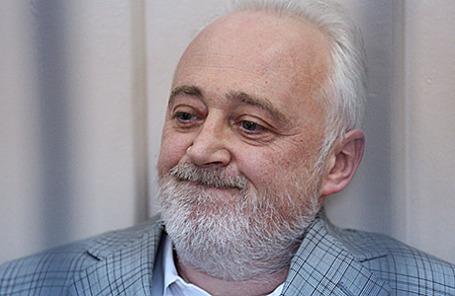 Леонид Меламед, задержанный по делу о растрате в особо крупном размере.