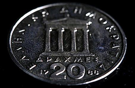 Монета достоинством 20 драхм.