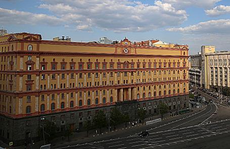 Здание ФСБ на Лубянской площади в Москве.