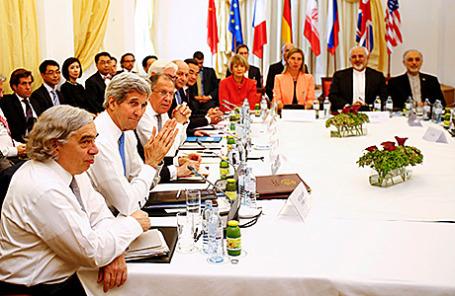 Переговоры по иранской ядерной программе в Вене, Австрия.