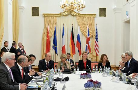 Переговоры по ядерной программе Ирана в Вене.