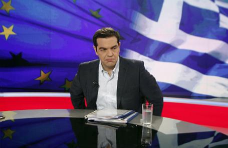 Премьер-министр Греции Алексис Ципрас.