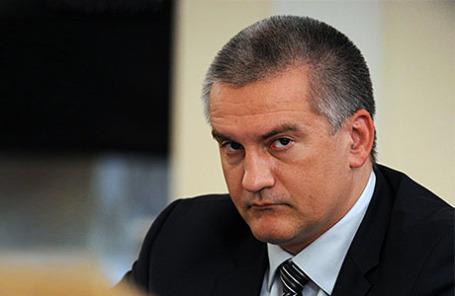 Глава Республики Крым Сергей Аксенов.