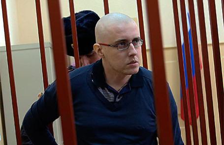 Националист Илья Горячев.