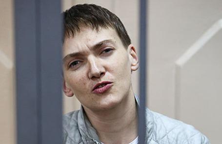 Бывшая украинская летчица Надежда Савченко.