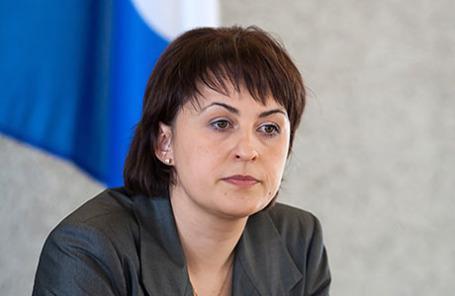 Мэр Петрозаводска Галина Ширшина.