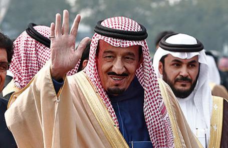 Король Саудовской Аравии Салман ибн Абдул-Азиз Аль Саудю.