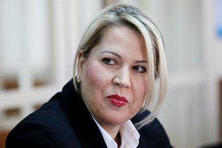 Бывшая чиновница Минобороны РФ Евгения Васильева.
