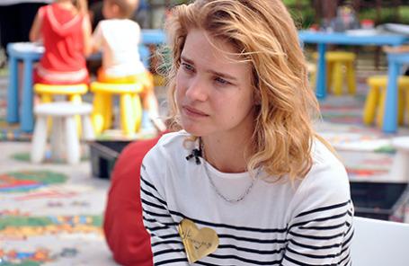 Модель Наталья Водянова.